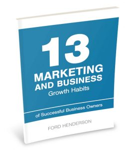 13 Marketing Habits Book Cover