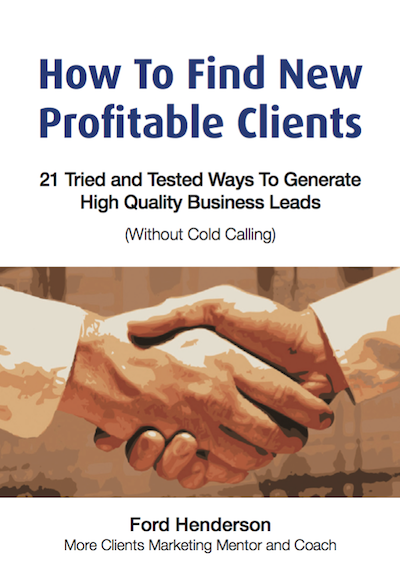 How To Find New Profitable Clients