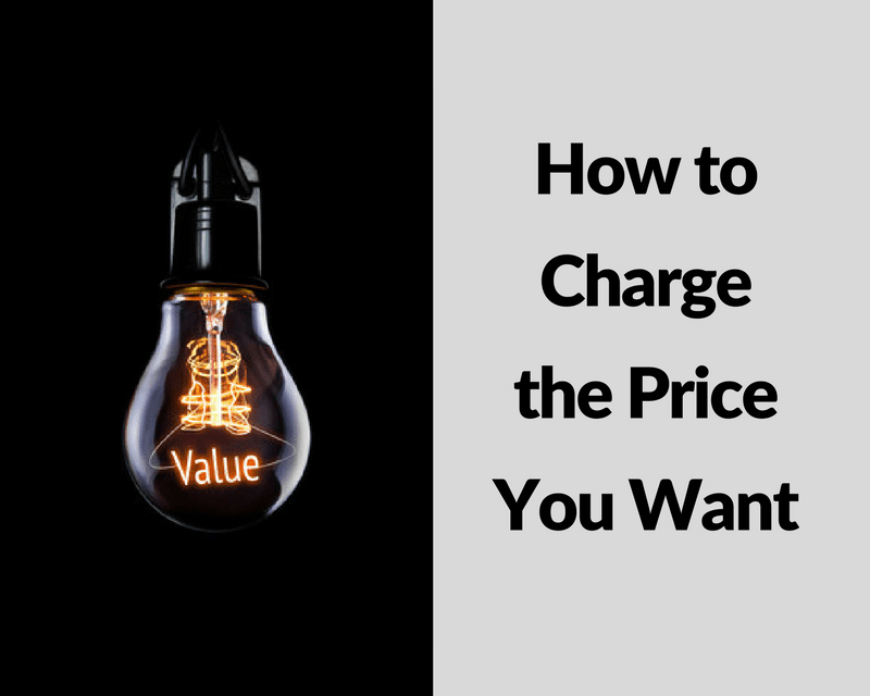 How to Charge the Price You Want - Ford Henderson Marketing