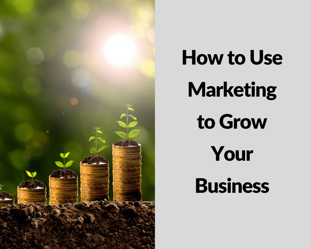 How To Use Marketing To Grow Your Business - Ford Henderson Marketing
